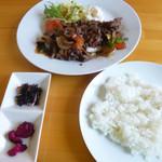 ゆみんとぅき - 料理写真:石垣牛焼き肉ランチ