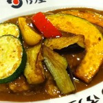 日乃屋カレー - 野菜カレー