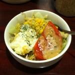 日乃屋カレー - ポテトコーンサラダ