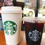 スターバックス・コーヒー - グランデスターバックスラテ・アイスコーヒー