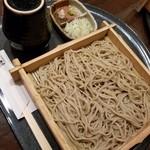札幌蕎麦 き凛本店 - せいろ(細切) 700円