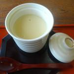 三日月庵 - 「うどんセット」茶碗蒸し
