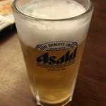 鵬天閣 - 生ビール