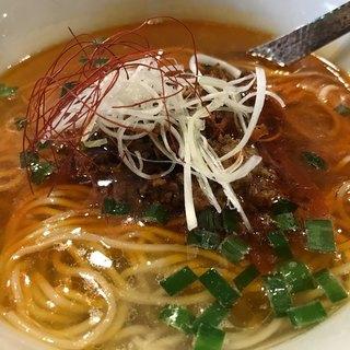 らぁ麺やまぐち 辣式 - 料理写真:台湾風牛塩麺
