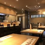 モダン和食 かみや - 落ち着いた雰囲気でお食事を楽しんでいただけます。