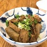 京極スタンド - ○すじ肉煮込み様(640円)
