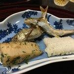 つる幸 - 鮎、鱧の焼き物