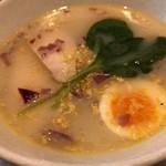 NOODLE CAFE SAMURAI - 柚子香る鶏白湯そば