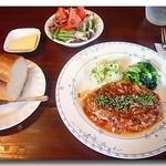 ビストロ・マンジェ - 料理写真:鮪のハンバーグ