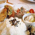 SALLASA VILLAGE cafe - 料理写真:ランチ 1000円