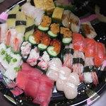 小僧寿し - 料理写真:お寿司のセット