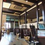 珈琲館 天秤 - 広々とした店内はクラシカルな雰囲気♪