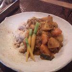カイラスレストラン - お野菜といちじくのライスカレー