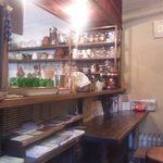 カイラスレストラン - 1階カウンター