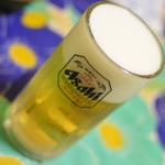 新川屋酒店 - 生ビール・中(280円)2018年5月