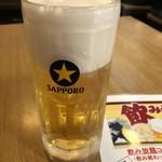 一平 - 乾杯の生ビール