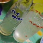新川屋酒店 - レモンサワー(瓶)(130円)2018年5月