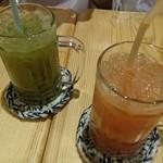ノア ノップ - キウイジュースとグァバジュース