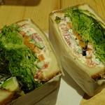 ノア ノップ - ベジタブルサンドイッチ