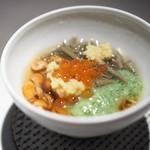 エクアトゥール - なめこ いくら おくら ジュンサイ 冷たい麺