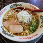 金町製麺 - 金町製麺(稲庭中華そば・大盛 900円)