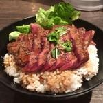 レッドロック - ステーキ丼(並)