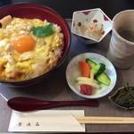 弥満喜 - 「奥久慈しゃも丼」1200円