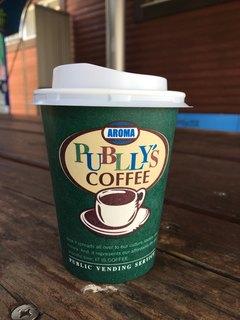権現湖パーキングエリア上り線 スナックコーナー・フードコート - アロマパブリーズコーヒーらしいです