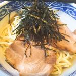 麺屋 八 - つけ麺アップ。麺は味噌ラーメンと同じ低加水。