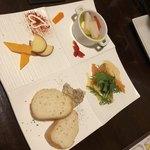オレンチ - 前菜4種