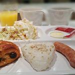 京王プレッソイン東銀座 - 朝食ビュッフェ