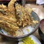 豊野丼 - はぜの天丼