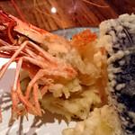 86210944 - 海鮮と野菜のかき揚げ天せいろ