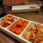 焼肉 手稲 じゃんごー - 「キムチ盛り」580円