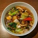 WANG'S GARDEN - 五目広東麺