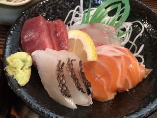 お食事の店萬福 - 4種の刺身