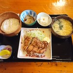 86213016 - 若鶏竜田揚げ定食800円