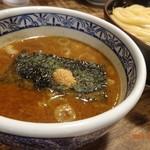三田製麺所 - つけ麺のお出汁。