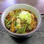 立ち喰いそば・うどん ふうちゃん - 料理写真:山菜そば