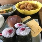 千福ずし - 料理写真:「お寿司屋さん」のモーニング(2018.05現在)