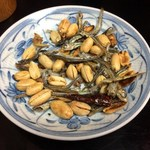 喜来楽 - 煮干しピーナッツ