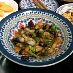 喜来楽 - 牡蠣の豆鼓炒め