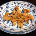 喜来楽 - 鶏皮のカリカリ揚げ