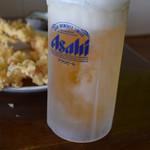 犬若食堂 - 今一度、生ビール