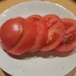 86221670 - 冷やしトマト(頂き物のお裾分け)