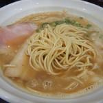 麺や hide - 自家製麺が美味い