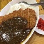 らーめん優月 - 料理写真:カツカレー 750円