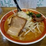 拉麺アイオイ - 「みそラーメン」ゴマペーストの味噌が旨い