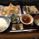 魚好亭 - 天ぷら定食(上)850円