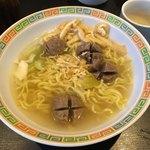 ワルングキズナ - 牛肉団子スープ麺850円